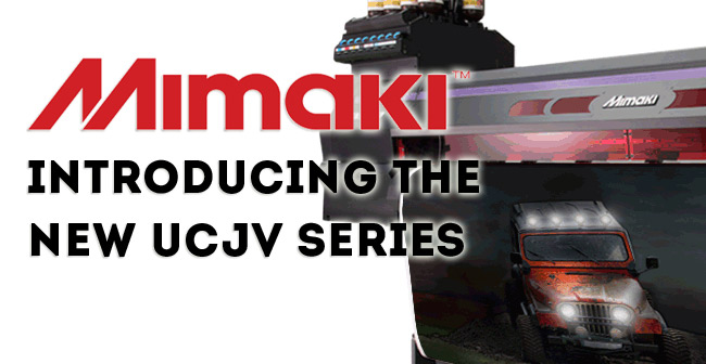 Mimaki Introduces UCJV Series printers | Gans Digital Media