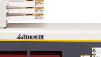 MImaki UJF UV LED Printer