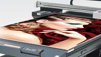 Mimaki JFX Wide Format flatbed UV printer