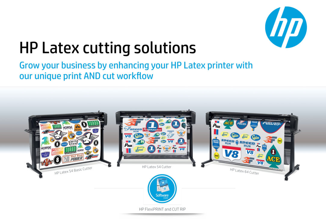 Introducing the NEW HP Latex cutting solutions | Gans